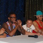 (from left to right) HGBC panelists discussing pornography and men of color include Tiger Tyson, HotRod, June Quinones, Blake Rowley, and Joshua Rosenberger. Photo by: Chuck Colbert