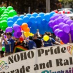 Noho Pride Anniversary on May 12th.  Photo by TRT/Glenn Koetzner.