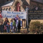 Episcopalians Okay Same-Sex Blessing, Trans Inclusion, Local Angle
