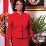 "Florida's Lieutenant Governor Jennifer Carroll tries being funny by insulting ""black lesbians.""  Photo: Official from Lt. Governor Jennifer Carroll's website"