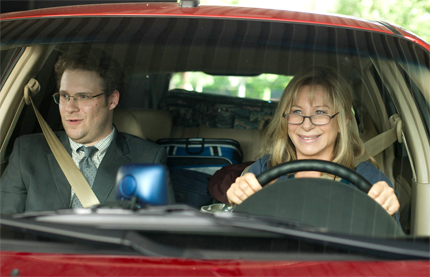 Seth Rogen and Barbra Streisand, of The Guilt Trip, out everywhere Dec. 19.  Photos: Paramount Pictures