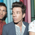 American band Fun members, Andrew Dost, Nate Ruess (lead singer), and Jack Antonoff.  Photo: Fueled by Ramen