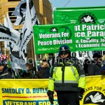St. Patrick's Peace Parade Marchers, on March 17th.  Photo: TRT/Sean Sullivan (c)