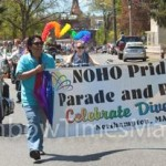 "On May 4th Noho Pride 32 took place and many people attended the event. Police officials, as well as local daily newspaper reports,  estimated the crowd to have been between 8-10K attendees, or ""the largest ever"" according to the official source.  Photo: Heather Farrell-Dunn"