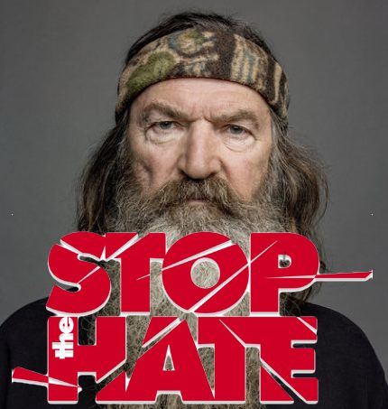 "'Duck Dynasty' star Phil Robertson showing his ""true colors"" when using hurtful, divisive, racist and homophobic words towards blacks and gays.  Photo: Duck Dynasty"