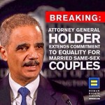 Attorney General Makes Landmark Marriage Equality Announcement from HRC NY Gala Stage