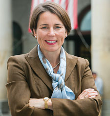 Maura Healey, a former assistant attorney general for the Commonwealth of Massachusetts, is now running now for the Massachusetts Attorney General position being vacated by Martha Coakley.  Photo: Official from Campaign