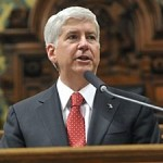 Creep of the Week: Gov. Rick Snyder, More Worried About Same-Sex Parents than His State's Fate
