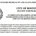 Boston City Councilors Michelle Wu & Ayanna Pressley File Gender Identity Non-Discrimination Ordinance