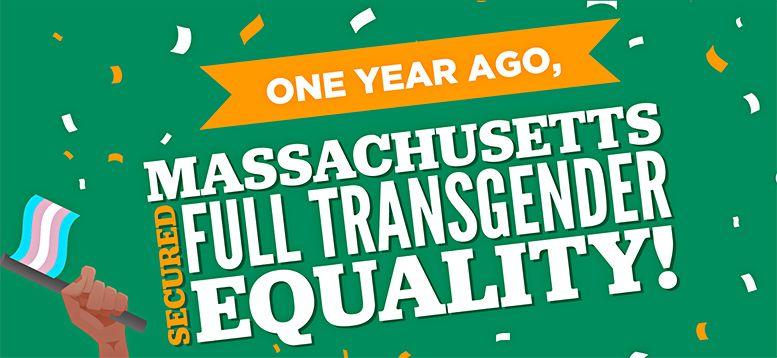 MA Celebrates One-Year Anniversary of Transgender ...
